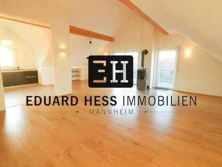++ Penthouse-Charakter - exklusive Dachgeschosswohnung + Einzelgarage u. Stellplatz + Oggersheim ++