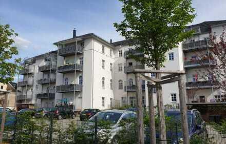 Großzügige 3-Zimmer-Wohnung mit Balkon, Blick über Plauen - sehr ruhige Lage