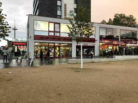 Schnellimbiss + Kiosk in 1A-Lage direkt am Leverkusener Hauptbahnhof
