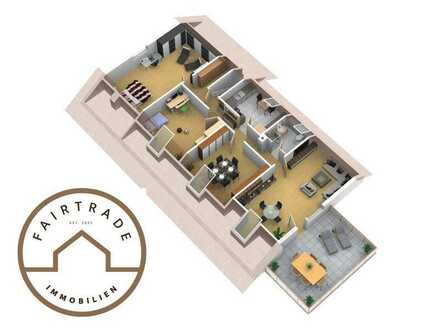 Komplett renovierte, schön geschnittene 4- Zi. ETW in beliebter Wohnlage in Herbrechtingen