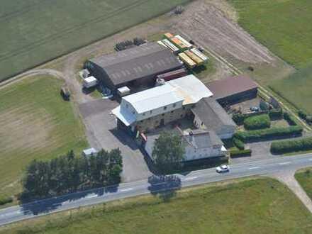 Mühlengrundstück mit Landhandel, Wohnhaus und Gewerbeobjekt