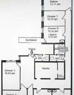 KIT - Durlacher Tor: renovierte Wohnung - neue Küche - hohe Decken - helle Zimmer - Neugründung eine