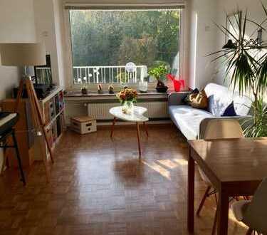 Wunderschöne 3-Zimmer-Wohnung mit sonniger Terrasse u Garten im Flussviertel zur Zwischenmiete