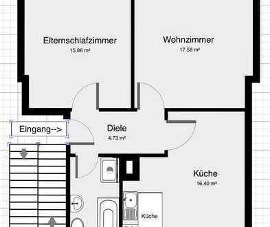 2-Zimmer Wohnung/ERSTBEZUG NACH KERNSANIERUNG