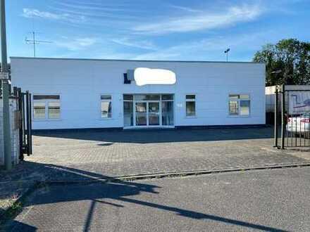 3 Produktionshallen + Freifläche und Büros auf ca. 6000 m² Fläche