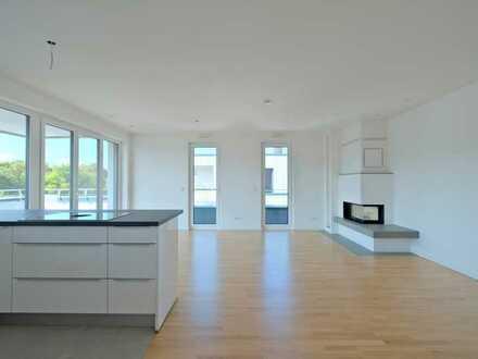 Anspruchsvolles Wohnen in einmaliger Lage - Penthouse im Neubau 99 Gärten!