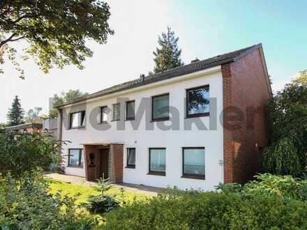Doppelt zuverlässig: Schönes Zweifamilienhaus in gefragter Lage vor den Toren Bremerhavens