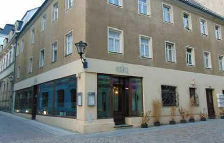 Im historischen Altstadtkern von Pirna