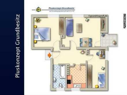 Top sanierte 3-Zimmer Wohnung!