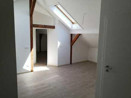 Erstbezug: stilvolle 3,5-Zimmer-Dachgeschosswohnung mit gehobener Innenausstattung in Weixdorf