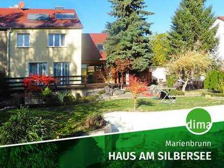 HAUS am Silbersee | Außenpool | Terrassen | Solar | Sauna | Kaminanschluss | Stellplätze