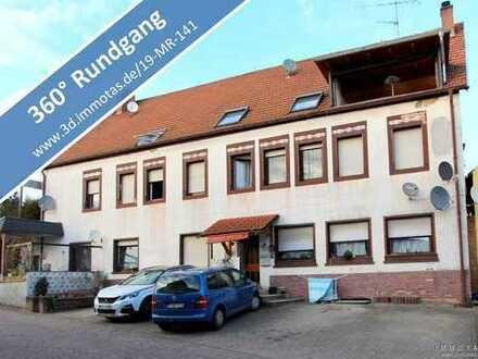 Eigentumswohnung im Erdgeschoss eines 5-Parteien-Wohnhauses