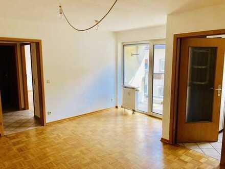 Frisch nach Sanierung inkl. EBK, Balkon, barrierefrei: schöne 2-Zimmer-Wohnung zentral & ruhig