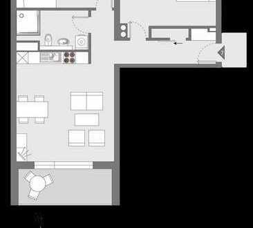 HAUS°54: Neubau, 3 Zimmer, Süd-Balkon mit Gartenblick