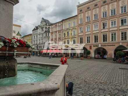 Gewerbefläche in historischem, denkmalgeschützten Stadthaus