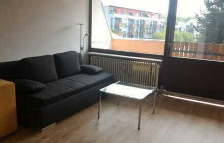 Vollst. renoviertes 1-Zimmer-Appartement m. Duschbad, EBK, Balkon