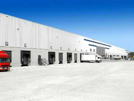 PROVISIONSFREI: ca. 20.000 qm Neubau Logistik | 12x Rampen | mind. 10,50 m UKB !