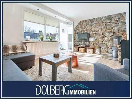 Toplage in Meiendorf: Schöne 3,5 Zimmer Eigentumswohnung mit Loggia und Gartenanteil