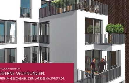 Neubau in Friedrichstadt: 3-Zimmer-Wohnung mit rund 91 m² Wohnfläche