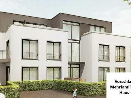 Baugrundstück in Eschweiler für freistehendes Mehrfamilienhaus, provisionsfrei zu verkaufen