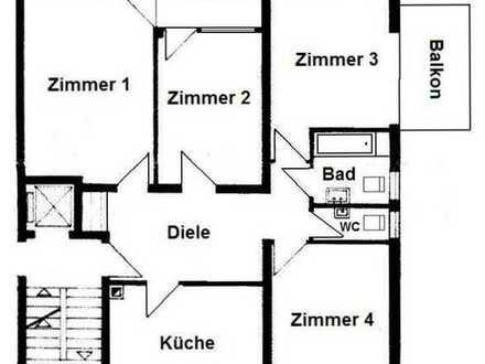 Schöne vier Zimmer Wohnung in Karlsruhe, Südweststadt