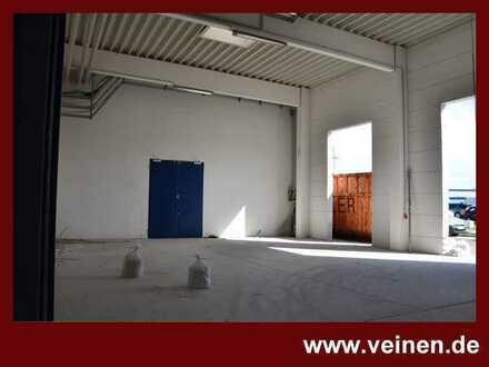 Hallen- Lager- und Ausstellungsflächen aufgeteilt auf verschiedene Gebäude