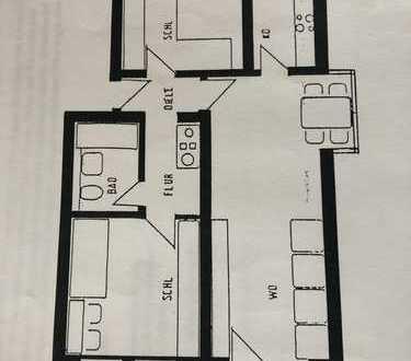 Ansprechende 3-Zimmer-Wohnung in Rosenheim