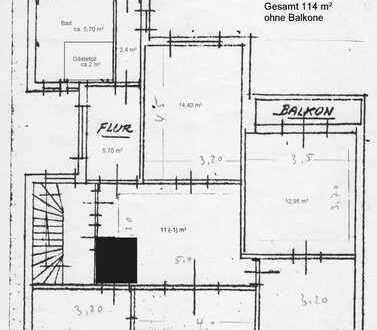 Räume für Praxis oder Kanzlei 114qm