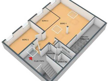 Bürofläche mit 83m² im Mühlenviertel Tübingen inkl. NK (Wasser/Heiz.)