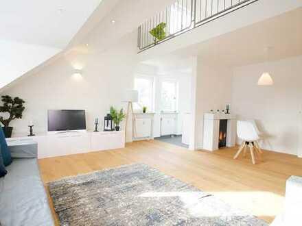 Erstbezug nach Sanierung | Exklusive 2,5 Zi. Dachgeschoss-Maisonette-Wohnung in begehrter Lage