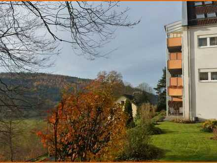 RESERVIERT!!! Gepflegte 2-Zimmer Eigentumswohnung mit Balkon in ruhiger Wohnlage von Bad Brückenau