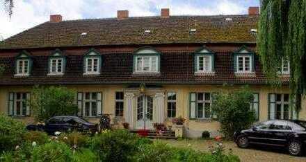 Gutshaus mit Park, einem Gästehaus, einem weiteren Gebäude, derzeit privat und geschäftlich genutztt