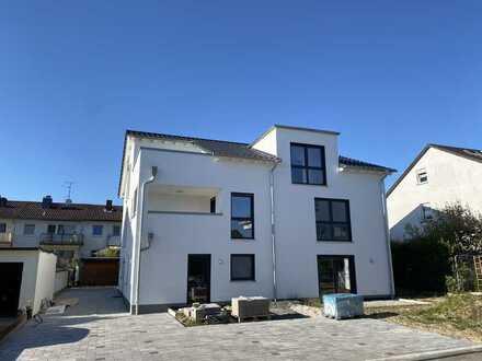Erstbezug: schöne 4-Zimmer-Wohnung mit Einbauküche und Balkon in Egelsbach