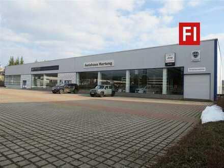 Direkt an der A71! Großgebäude als Autohaus / Produktion / Entwicklung / Event / Catering