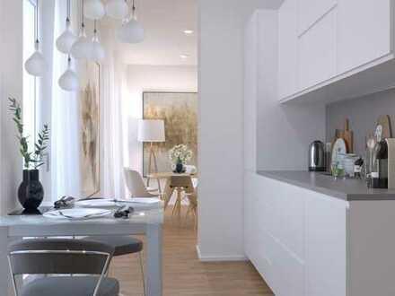 Familientraum! 3-Zimmer-Wohnung auf ~95m² mit ~35m² Balkon, Wohnküche & 2 weiteren Balkonen