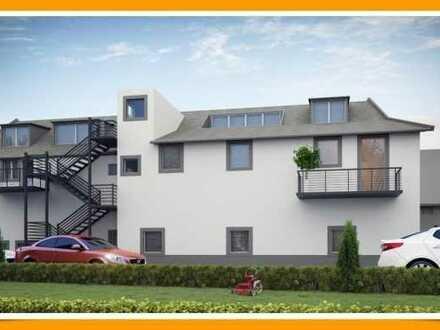 Walheim: DG-Wohnung mit großer Loggia * schöne Aussicht auf die Weinberge *