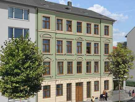 Denkmalgeschützte kleine Wohnung im Dach