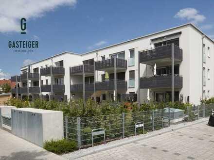 Moderne Wohnung mit sonnigem Balkon in Bahnhofsnähe.