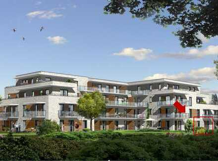 Zentral in Heikendorf: Neubau-2.Zi-Wohnung