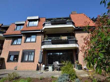 """Hemmingen: """"Am Gutshof"""" Schöne EG-Wohnung mit großer Terrasse, Garten + Einzelgarage"""