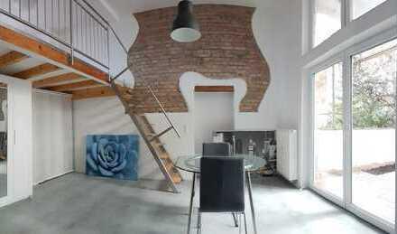 Neues traumhaftes möbliertes Loft in HD Handschuhsheim mit Terrasse