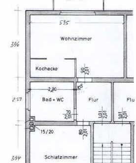 Freundliche 2-Zimmer-Wohnung mit Balkon und Einbauküche in Bad Nauheim/Nieder-Mörlen