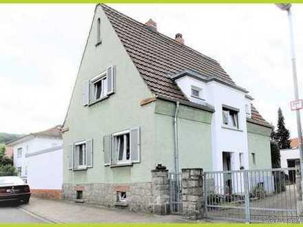 Grundstück mit charmantem Einfamilienhaus im OT Alsbach