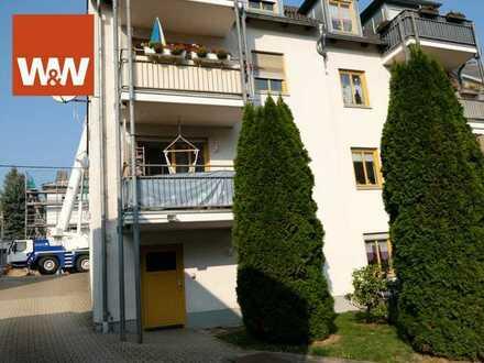3-Raum-Wohnung mit Balkon und Parkplatz in Oelsnitz/Erzgebirge