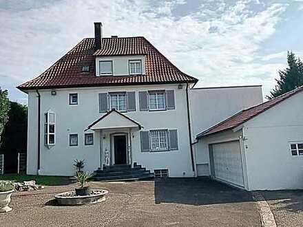 Extravagante Villa (ca. 11,5 Ar Grdstck) 1-3 Fam.-Haus in Toplage ca.315 m² WFL (weiter bebaubar!?