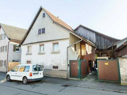 Projektiertes Bauvorhaben mit Bestandsgebäude in Teningen
