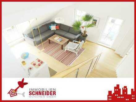 IMMOBILIEN SCHNEIDER - EXCLUSIV-WOHNEN: Traumhafte Architekten-DG-Galerie-Wohnung