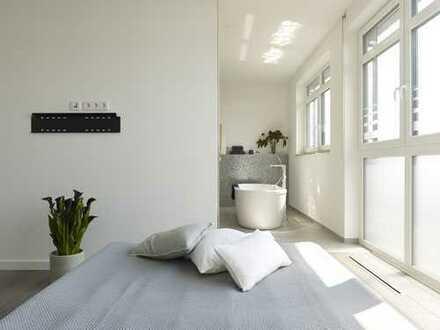 Df.-Oberkassel: Außergewöhnliches 5-Raum-Penthouse im Loft-Stil