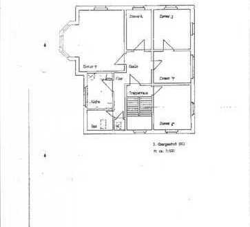 stilvolle 4,5 Zimmer Altbau DG-Wohnung in Ravensburg Stadt