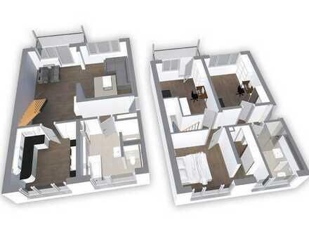 neu sanierte Maisonettewohnung
